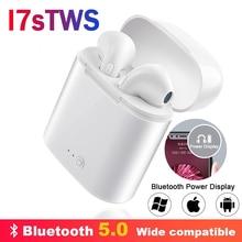 IBESI i7s TWS беспроводные наушники Bluetooth наушники спортивные стерео наушники с зарядным устройством для iPhone Xiaomi huawei