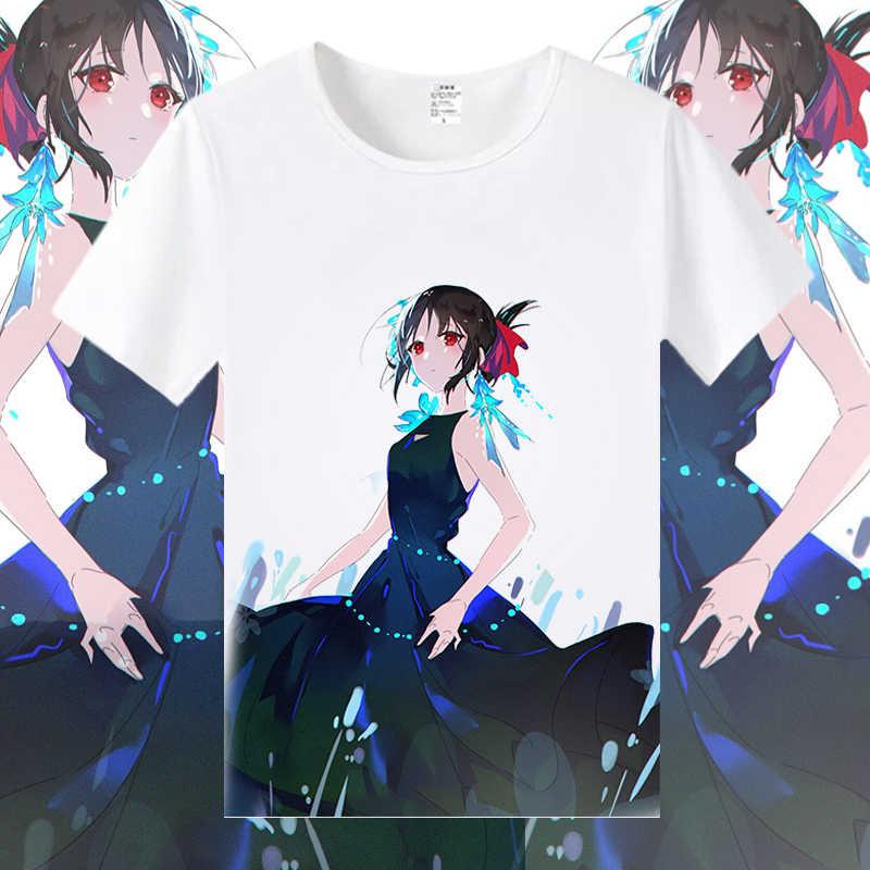 Anime Kaguya Sama Love Is War Cosplay Kaguya Shinomiya Cosplay Fujiwara Chika White Men Short Sleeve Tshirts For Women Cs294 Aliexpress