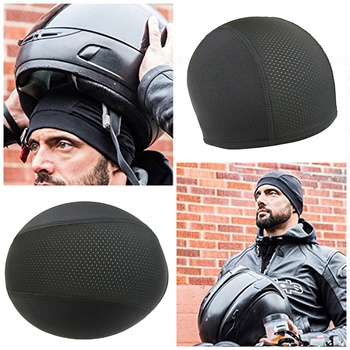 Motorcycle Moisture Wicking Cooling Skull capacete para moto Cap Motorcycle Helmet Inner Liner Beanie Motocross Helmet Open Face 1