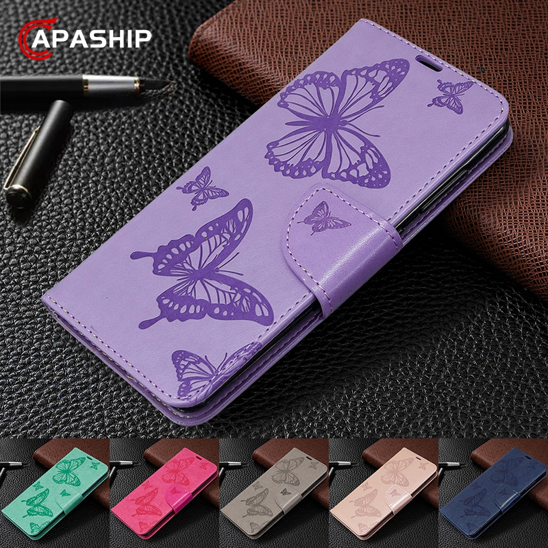 3D Butterfly Flip Case For Samsung Galaxy A01 A11 A21 A31 A41 A51 A71 A10S A20S A30S A40 A50 A70E S10 S20 Leather Wallet Cover