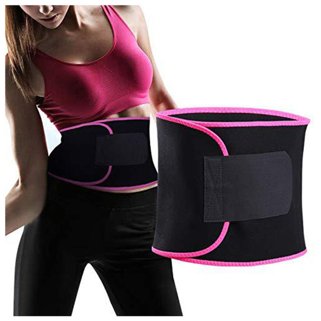 Unisex Waist Cincher Trimmer Tummy Slimming Belt Woman Corset Shaper Latex Waist Trainer Women Body Shapers Postnatal Care