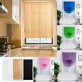 Самоклеящиеся плиссированные жалюзи  полузатемняющие окна  занавески для ванной  балкона  оттенки для дома для окна двери  Декор