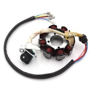 Image 2 - 8 Pole Coil AC Ignition Magneto Stator for CG125 8 150cc 250cc Motocross ATV