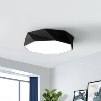 Scandinavian Geometry Modern Led Ceiling Lights For Indoor Home Lighting Ceiling Lamp With Remote Control Sleeping Room Lamp