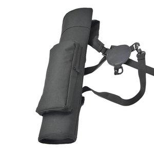 Image 2 - 1 шт., рюкзак для стрельбы из лука, колчан, сумка через плечо, чехол со стрелкой, держатель, 40 стрел, изогнутый лук, принадлежности для охоты, стрельбы