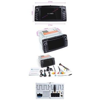 Android 9.0 Car DVD Player para Toyota Corolla E120 BYD F3 2 Din Car Multimedia GPS estéreo Navegação AutoRadio (com câmera) 1