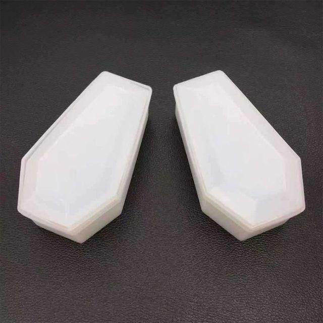 DIY Kristall Epoxy Mold Lagerung Box Formen Dark Vampire Sarg Hohe Spiegel Handwerk Machen Form S25 19 dropship