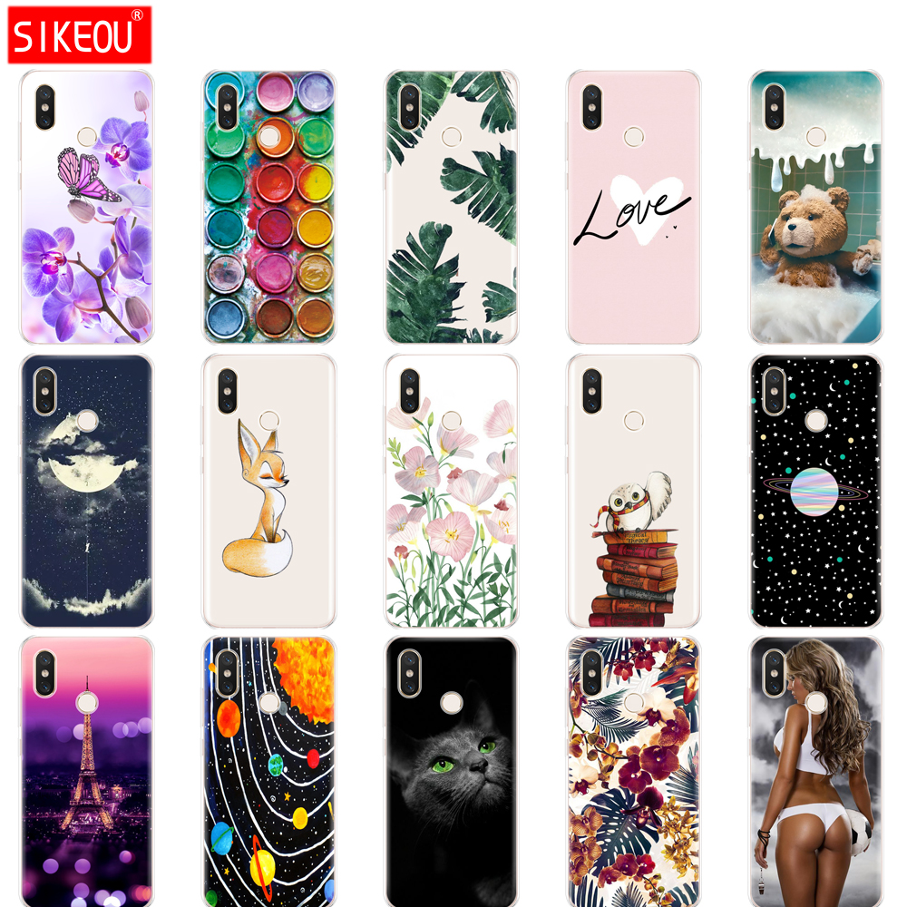 Silicone <font><b>case</b></font> For Xiaomi mi 8 6.21'' <font><b>Case</b></font> clear TPU For Xiaomi mi 8 <font><b>SE</b></font> 5.88