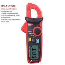 UNI-T UT210B current clamp True RMS 200A Mini AC Clamp Meters Ammeter w/ NCV handheld multimetro meter multimeter