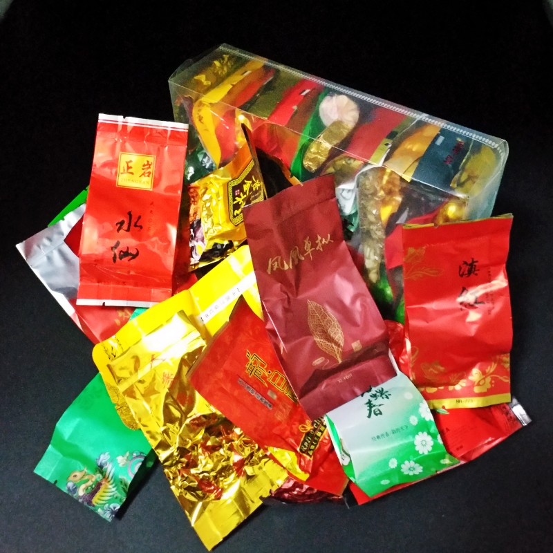 32 Different Flavors Chinese Tea Includes Milk Oolong Pu-erh Herbal Flower Black Green Tea 1