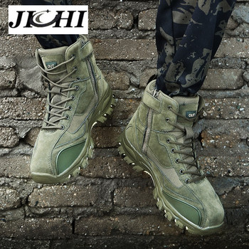 Men Boots Brand Men Combat Shoes Outdoor Non-slip Men Military Boots Men Sneakers Winter Classic Men Safety Shoes Mans Footwear
