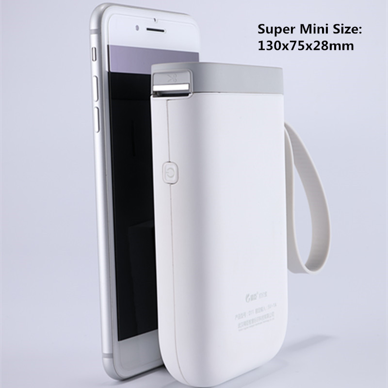 Super Mini Bluetooth Portable thermal label pricetag xxxs size