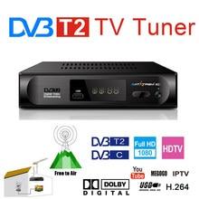 DVB T2 TDT TV Rezeptor Präfix Für Digital TV Tuner DVB-T2 Wifi Empfänger Set Top Box AC3 H.264 FTA 1080P DVB-C Decoder Youtube