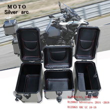 R1250GS Rear luggage box interior container tail Case trunk side bag interior bag top cover interior bag for BMW R1200GS LC / AD interior