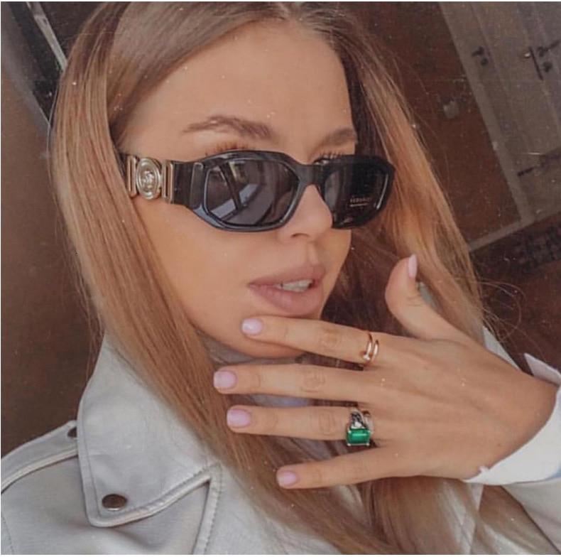 Pawes 2019 Fashion Small Steam Punk Sunglasses Men Women New Personality Irregular Square Ladies Vintage Eyeglasses UV400
