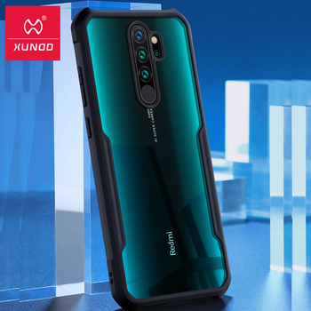 For Redmi Note 8 Ring Case XUNDD Airbag Shockproof Transparent PC TPU Bumper Back Cover for Xiaomi Redmi Note 8 pro чехол capa