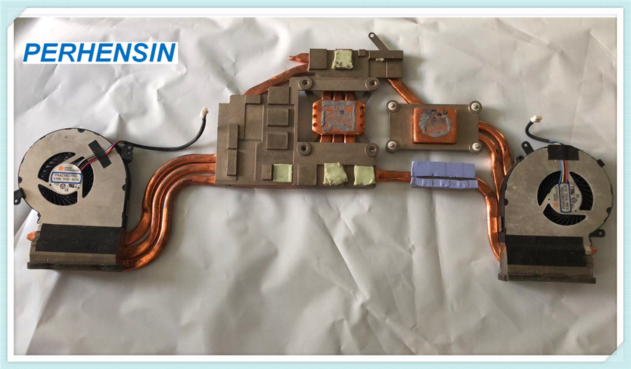 MS-179C Cooling System FOR MSI GE72 GE72MVR 7RG  MS179C Serial HEATSINK AND FAN E32-2500161-A87