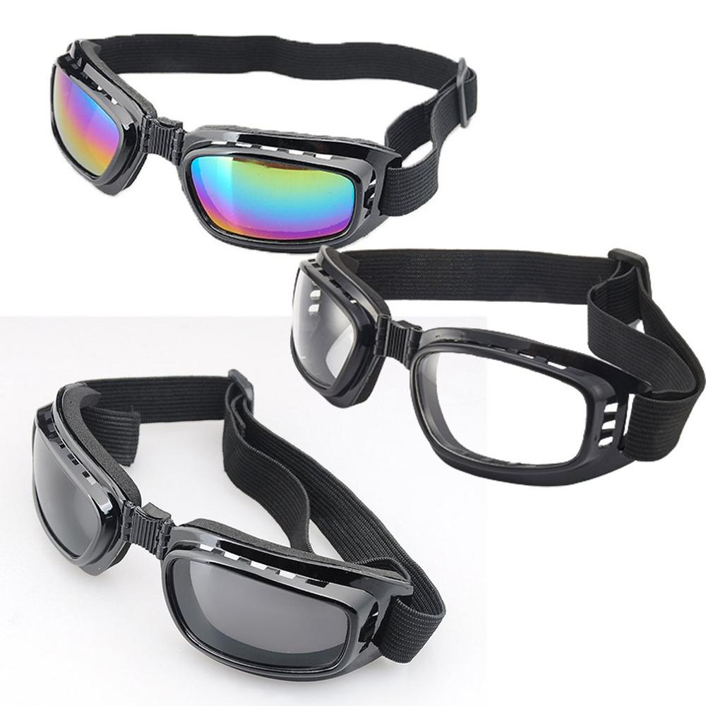 Motorcycle Goggles Polarized Day Night Cycling Sunglasses Temples Band Interchangeable Helmet Glasses
