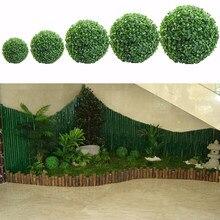 30 cm verde plástico planta bola decoração casa ao ar livre festa de casamento evento decoração plantas grama bola