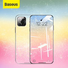 Baseus Tempered Glass For iPhone 12 11 Pro Xs Max X Screen Protector For iPhone Tempered Glass Full Cover Screen Protector Glass