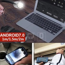 Mobile Phones Ear Spoon Borescope Endoscope 5.5mm IP67 Real-Time Video Photos Computers Practical Inspection Monitoring USB купить дешево онлайн