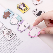 4pcs/Set Kawaii Cat Paw Magnetic Bookmarks Books Marker of Page Stationery School Office Supply Student 3 pcs pack flying unicorn magnetic bookmarks books marker of page student stationery school office supply