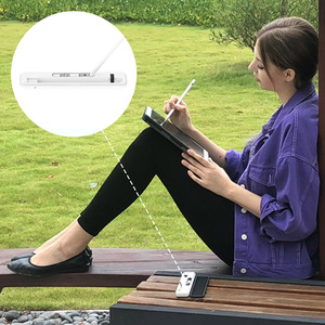 Image 5 - for Apple Penicl Storage Box Wireless Charging Case Carrying Charger Receiving Case Pencil Holder Stand for Apple iPencil