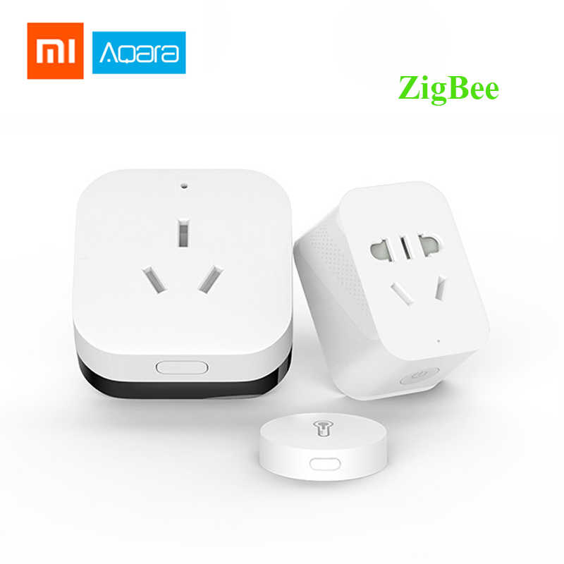 Xiaomi Aqara Smart Home Automation Kits Air Conditioning Partner Gateway3 Zigbee Wifi  Smart Socket Temperature Humidity Sensor