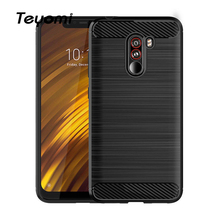 For Xiaomi Pocophone F1 Case,Shockproof TPU Protective Back Cove Case