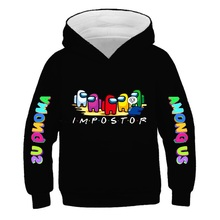 Funny Video Games cotton Among Us Hoodies For Teens Girls Cute Impostor Boys Clothes