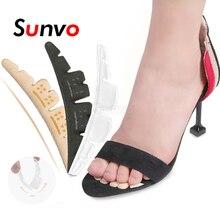 Sunvo высокий каблук противоскользящим носок колодки обуви подушки ноги женщины волдыря внимательности пальцы стопы вставить колодки силиконовый гель стельки облегчение боли