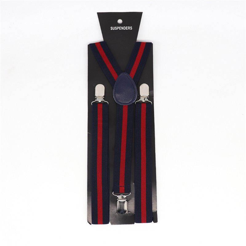Vintage Men Suspender Belt 3 Clips Stripe Shirt Stay British Braces  Fashion Shirt Holder Gentlemen Suspender Y-shape Strap Clip