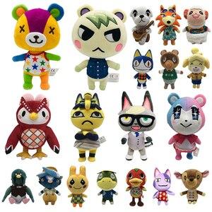 2020 animal cruzamento brinquedo de pelúcia novos horizontes jogo animal cruzamento amiibo marechal brinquedos de pelúcia boneca presentes para crianças nfc brinquedo de pelúcia