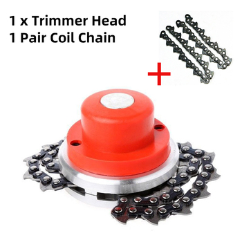 NEW Universal Trimmer Head Coil 65Mn Chain Brushcutter With Thickening chain Garden Grass Parts Trimmer For Lawn Mower new garden weeder accessory parts universal grass trimmer nylon line coil garden strimmer lawn mower fitting ornament red