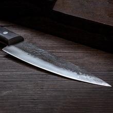 Hand forged boning knife High carbon steel kitchen knife Slaughter small sharp knife Sharp fruit knife Kitchen kitchen knife цена 2017
