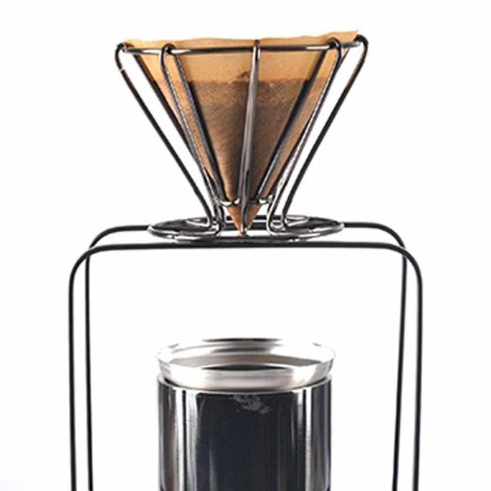 Criativo mão-lavado filtro de café ins vento simples copo de filtro portátil viagem ao ar livre gotejamento copo de café filtro de gotejamento