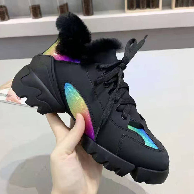 OllyMurs 2019 Ladies Sneakers  Women Running Shoes For Female Athletic Girl Brand Luxury stability Plush Casual Shoes Favourite