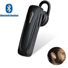 M163, мини Bluetooth наушники, Bluetooth гарнитура, Ушная петля, беспроводной наушник, громкая связь, стерео бас с микрофоном для всех смартфонов