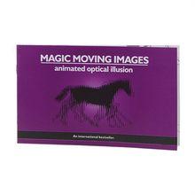 Versión más gruesa imágenes de magia en movimiento Libros Accesorios de trucos de magia juguetes ilusiones ópticas animadas regalos para niños