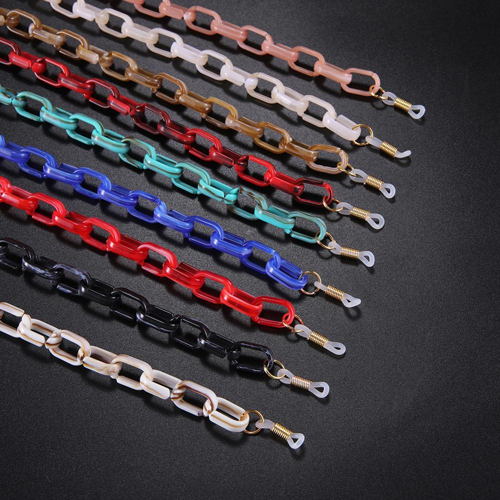 Skyrim Acrylic Glasses Chain Anti-slip Sunglasses Strap Reading Eyeglasses Cord Holder Neck Rope Lanyard For Women Men 2020 New