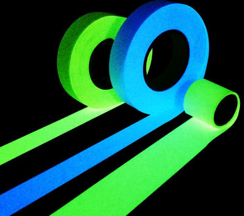 Glow in The Dark Cloth Luminous Tape Night Fluorescent Cloth  DIY Clothes Advertising Warning Party Festival Decorative