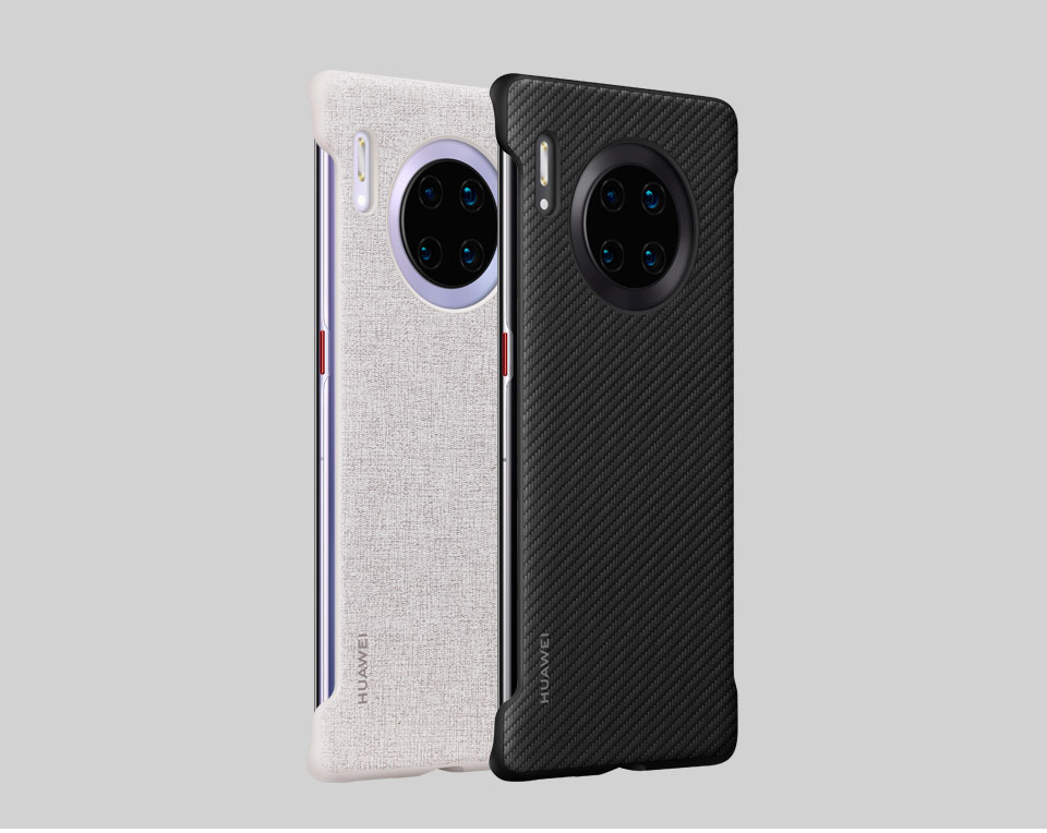 Image 3 - HUAWEI Mate 30 Pro Case Original Offical High Quality Protector Silicone Soft HUAWEI Mate 30 Case Back CoverPhone Bumpers   -