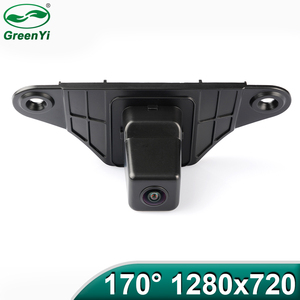 MCCD/Sony 1280x720P 170 Degrees Fisheye Lens Car Reverse Backup Rear View Camera For Asia Toyota Land Cruiser Prado 2010-2014