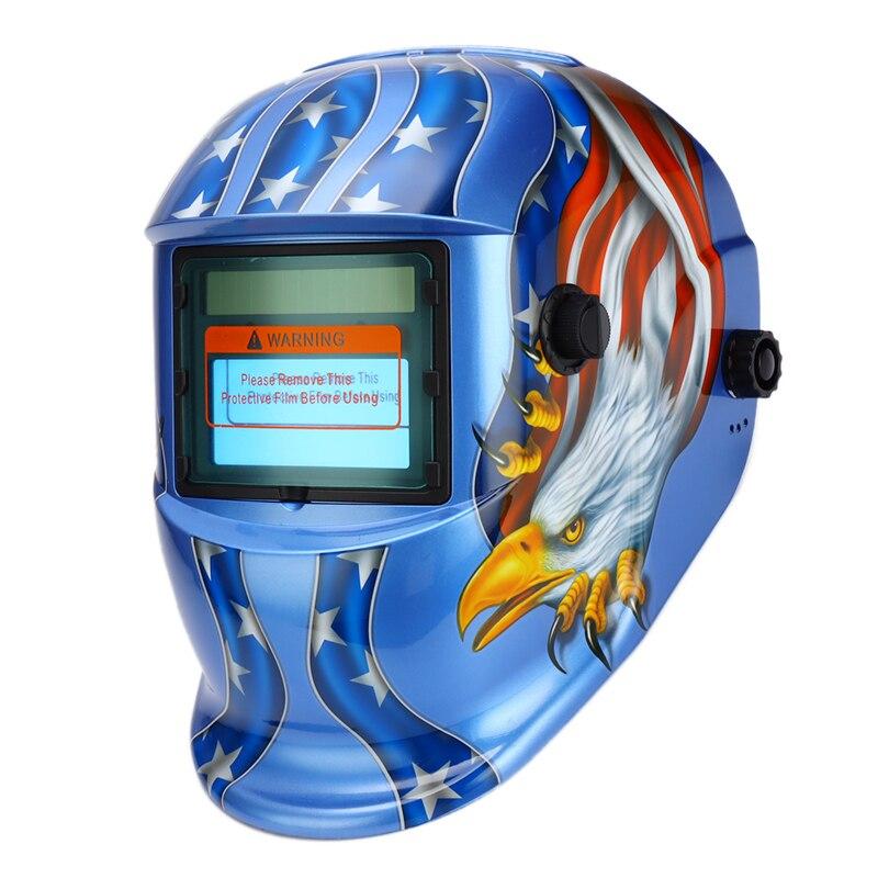 Mask Welder Solar Li DIN9 MMA Electric Glasses Battery For MIG TIG DIN13 Darkening Welder Auto Welding Power Helmets