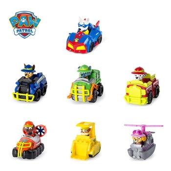 Genuine Paw Patrol toys Jungle Rescue Vehicle Set Cartoon Dogs Anime Action Figure Model Car Toy Child Birthday Gift цена 2017