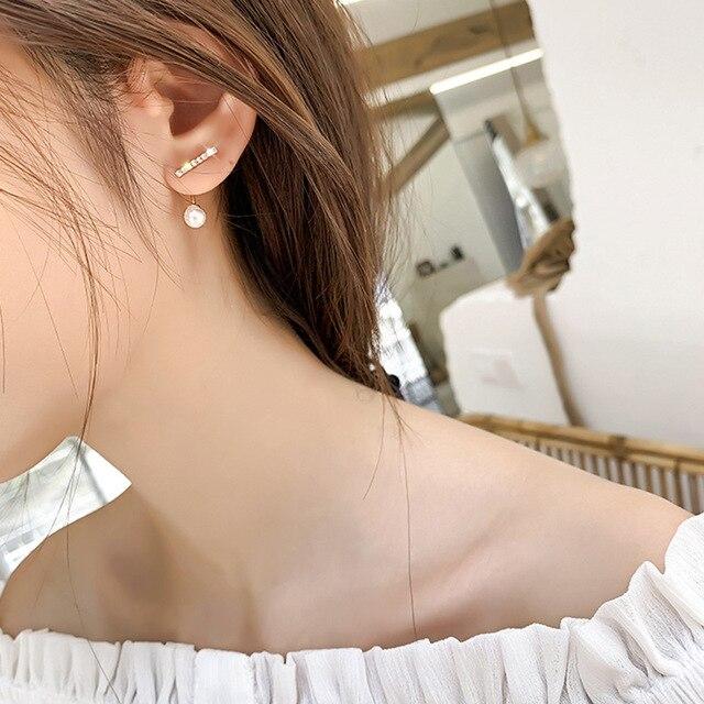Natural Freshwater Pearl Earrings 4