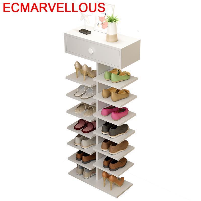 Organizador Zapatero Para El Hogar Armario Placard De Rangement Minimalist Meuble Chaussure Cabinet Scarpiera Mueble Shoes Rack