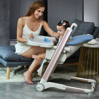 Multifunctional baby dining chair to eat collapsible portable baby dining table and chair seat children dining chair