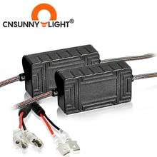 CNSUNNYLIGHT 2PCS H1 H7รถLEDตัวถอดรหัสEMC Canbusไฟหน้าอัตโนมัติหมอกDRL ICไม่มีข้อผิดพลาดสำหรับBMW X1 X2 X5สำหรับVW
