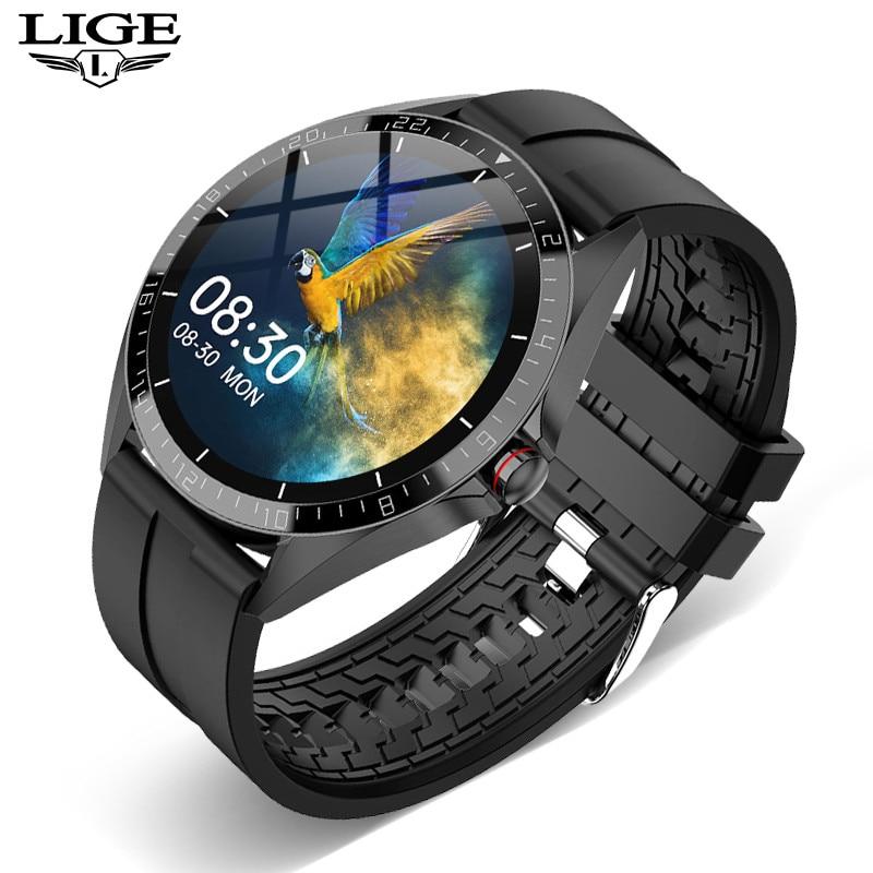 LIGE Sports Smart Watch Men smartwatch Women Waterproof Fitness Watch Heart Rate Blood Pressure Monitor Luxury Reloj Inteligente 1